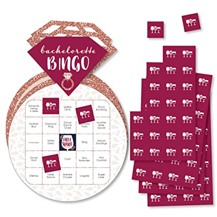 Amazon Com Vino Before Vows Bar Bingo Cards And Markers