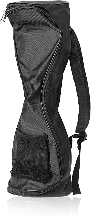 Michael Josh Waterproof Hover Board Bag Backpack for Smart Self Balancing Scooter Drifting Board,Mesh Pocket - Adjustable Shoulder Straps