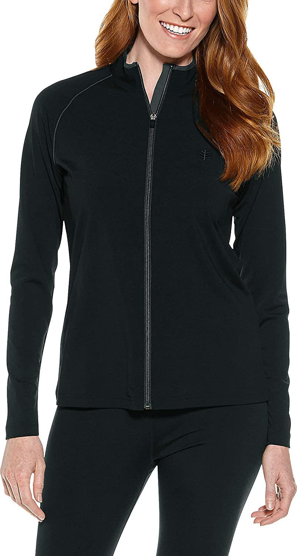 Coolibar UPF 50+ Women's Macarella Long Sleeve Water Jacket - Sun Protective: Clothing