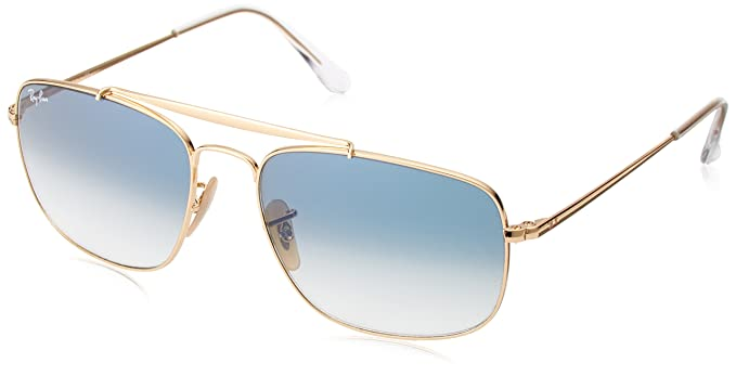 9cfa47d4c63 Ray-Ban RAYBAN 0RB3560 001 3F 58 Montures de lunettes Or (Gold Clear ...