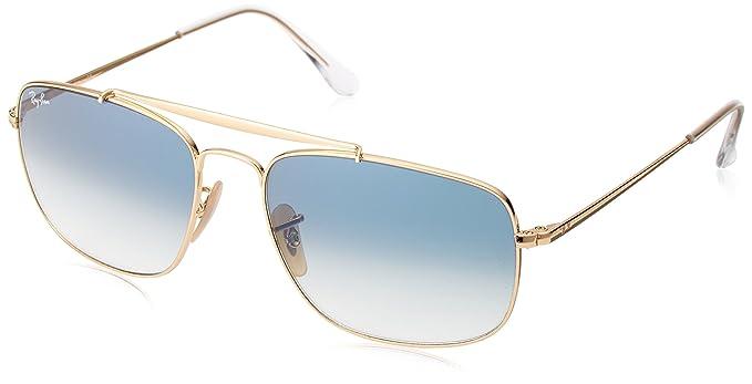 Ray-Ban 0RB3560 Gafas de sol, Gold, 57 para Hombre: Amazon ...