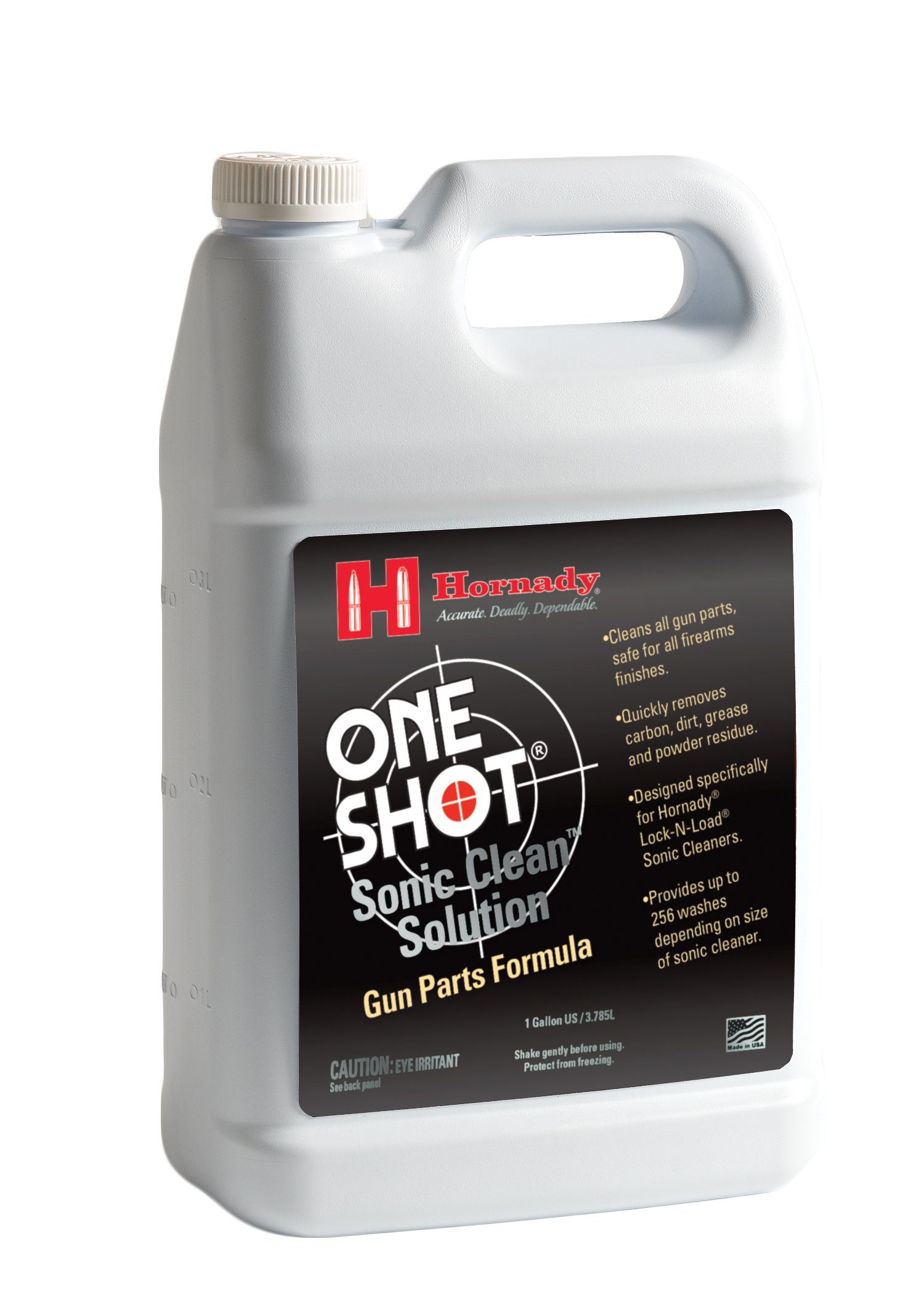 Hornady 043361 Lock-N-Load Sonic Gun Parts Cleaner Solution, Gallon by Hornady