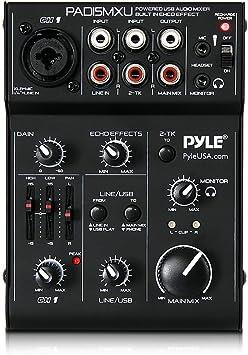 Amazon.com: Pyle pad15mxu para mezclador de DJ: Musical ...