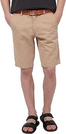 Pau1Hami1ton Bermudas para Hombres, Pantalones Cortos Chino PH-01