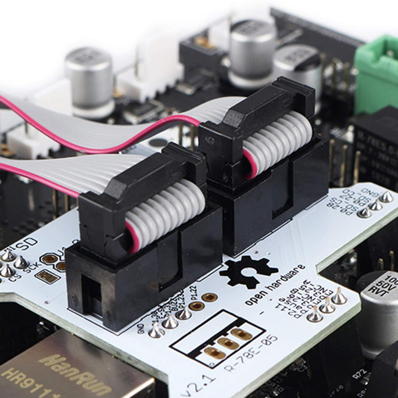XZANTE Impresora 3D Smoothieboard 5X V1.1 + 12864 Kit de Pantalla ...