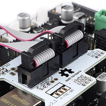 Iycorish Impresora 3D Smoothieboard 5X V1.1 + 12864 Kit de ...