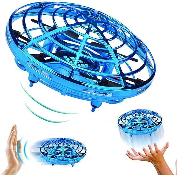 PRETYZOOM 3 St/ück Leuchten Kreisel F/ührte UFO-Spinner Spielzeug mit Musik Geburtstagsfeier Beg/ünstigt Ostern Korbf/üller f/ür Kinder