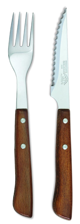 Sonpó Online - Modelo PKCTM - Juego de cuchillo chuletero y ...