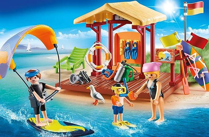 Playmobil 70090 Family Fun Agua Deportes de Escuela: Amazon.es: Juguetes y juegos