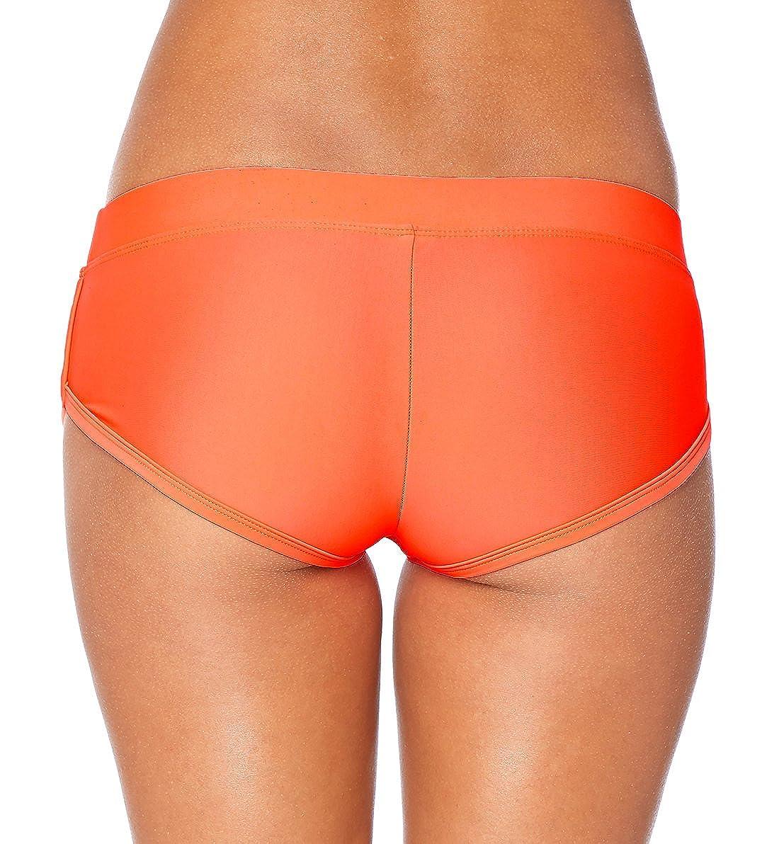 ef79f83b7676c Body Glove Womens Smoothies Sidekick Solid Sporty Bikini Bottom Swimsuit  Short Body Glove Juniors Swimwear 3950640