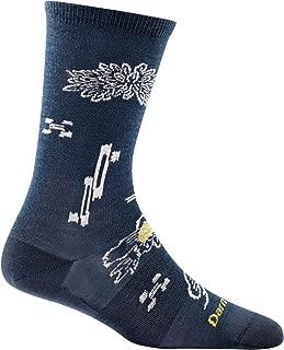 product image for Darn Tough Shibourri Crew Light Sock - Women's Charcoal Small