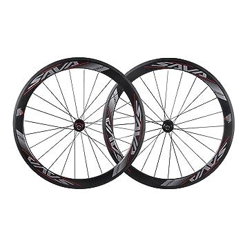 SAVA 700C Juego de Ruedas de Bicicleta de Carretera Ruedas/Llantas de T700 Fibra de