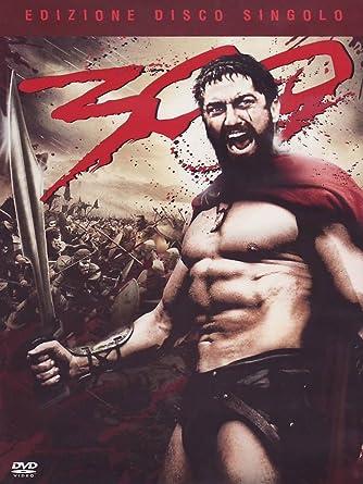 Amazon Com 300 Disco Singolo Italian Edition Gerard Butler Lena Headey Zack Snyder Movies Tv