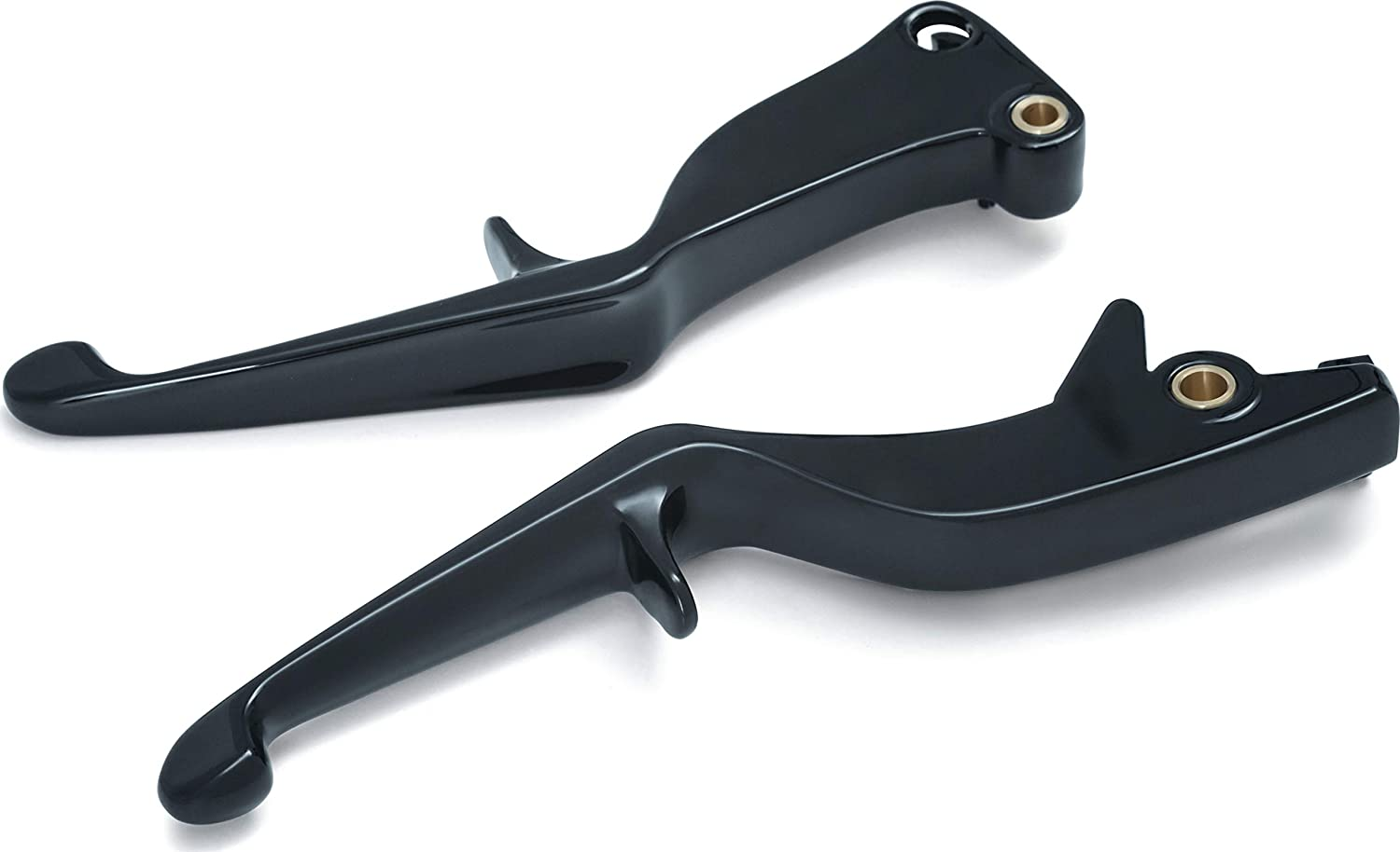 Gloss Black Clutch and Brake Trigger Levers for 2008-17 Victory Motorcycles with Cable Clutch Kuryakyn 7128 Motorcycle Handlebar Accessory 1 Pair