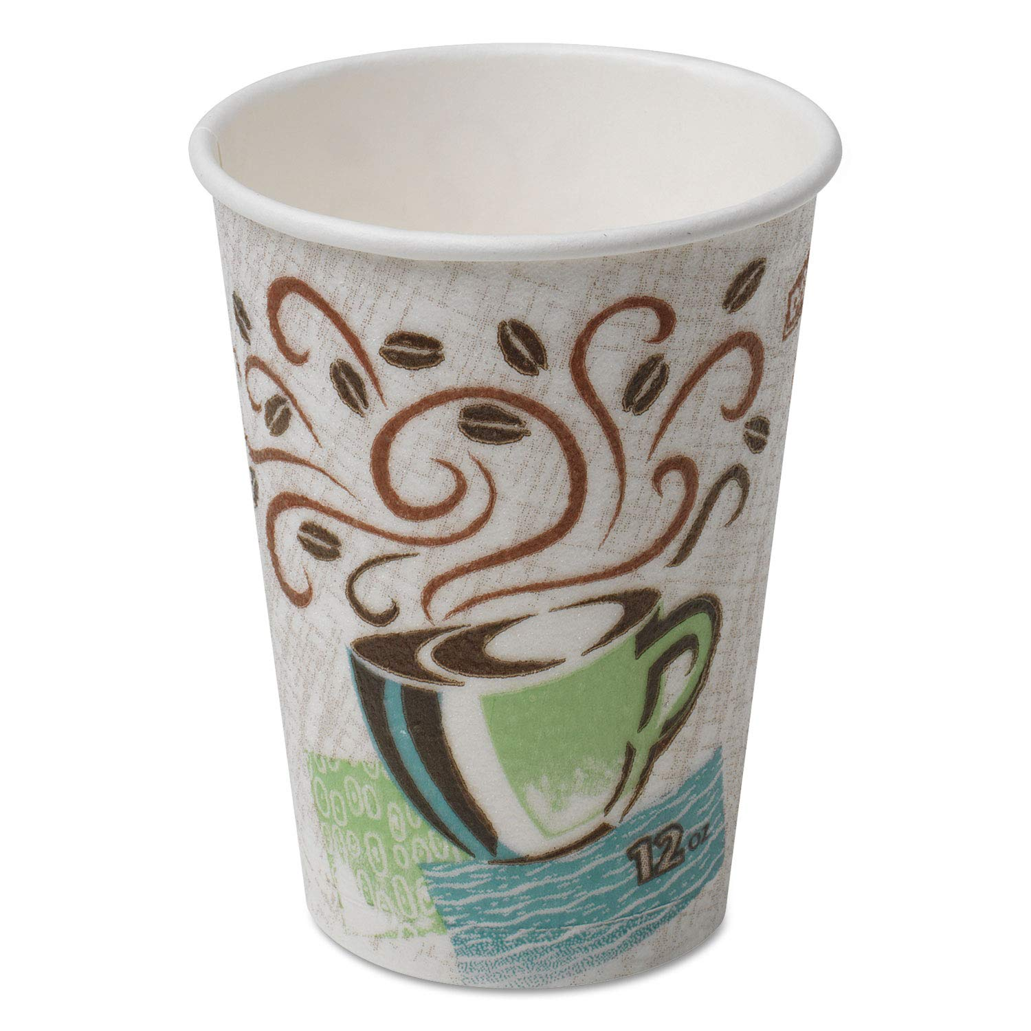 Dixie PerfecTouch Insulated Paper Hot Coffee Cup by GP PRO