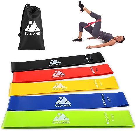a0f6408236db AGM Bande Elastique Fitness, Bande de Resistance Équipement d Exercices pour  Sport Musculation,