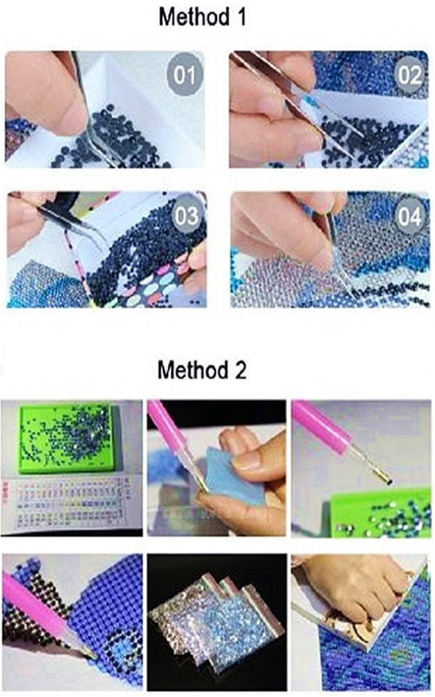 Baby Owl Bird 30x30 cm DIY 5D Diamond Art Mosaic Crafts for Adults Kids Beginner Crystals Rhinestones Cross Stitch Christmas YEESAM ART Diamond Painting Kits Partial Drill