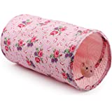 ALL FOR PAWS Crinkle Cat Tunnel Tube Collapsible Play Toy Fun for Rabbits, Kittens, and Dogs, Cat Toy, Indoor and…