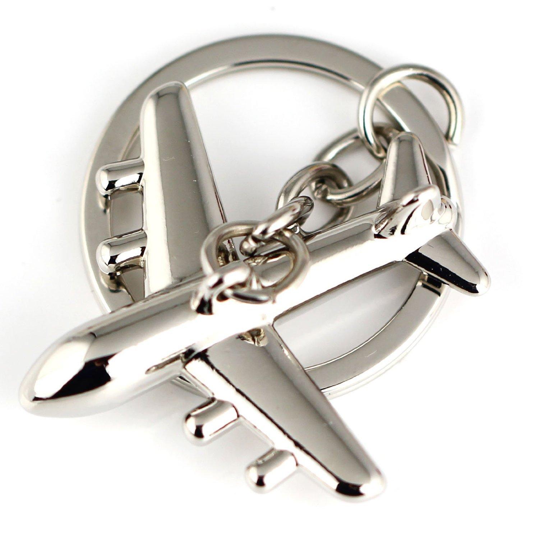 Maycom Airliner Keychain Fashion American Civil Aviation Aircrafts Airlines Air Plane Key Chain Ring Key Fob Keyring 86020