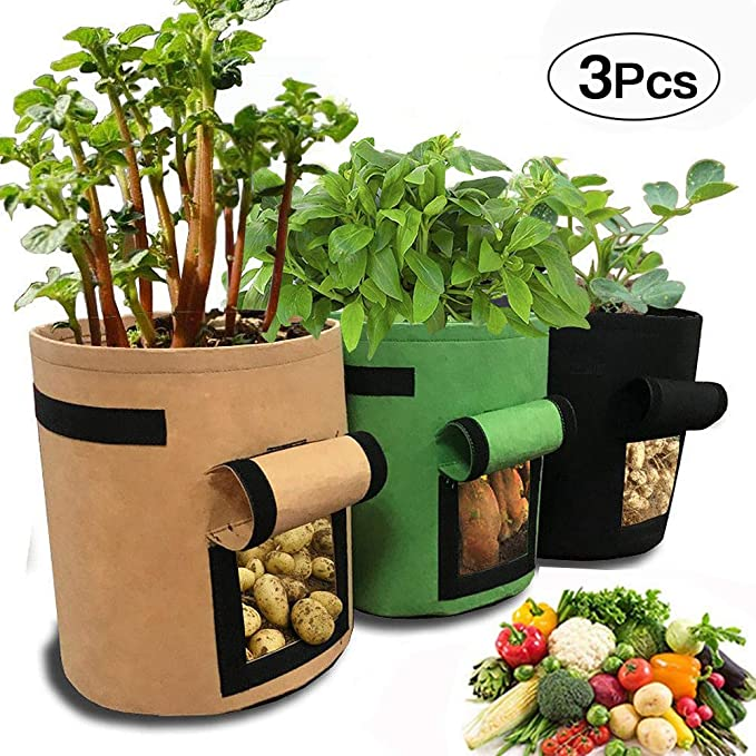 Bolsa de Cultivo de Patatas, 3 Unidades, Bolsas de Cultivo para ...