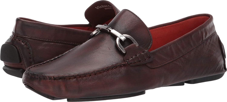 Cognac Wash Goat Donald J Pliner Mens Victor-ew Driving Style Loafer
