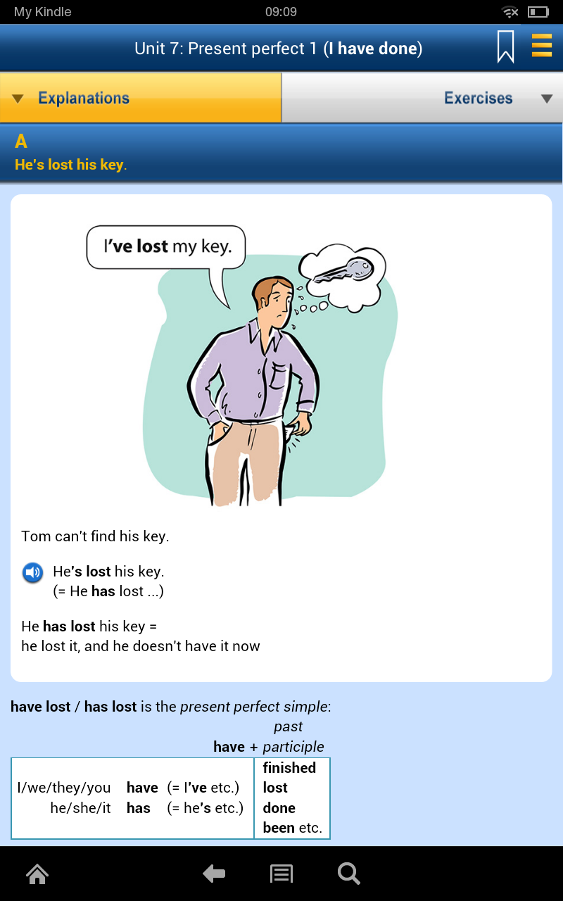 Amazon.com: Murphy\'s English Grammar in Use: Appstore for Android