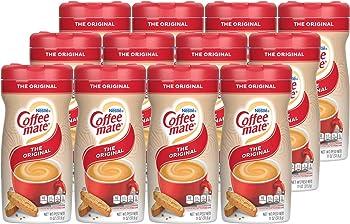 12-Pack Nestle Coffee Mate Original Flavor Powdered Creamer 11Oz