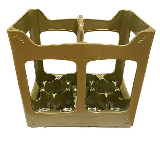 Plástico 10 Compartimientos Caja de Cajón Contenedor Botella De ...