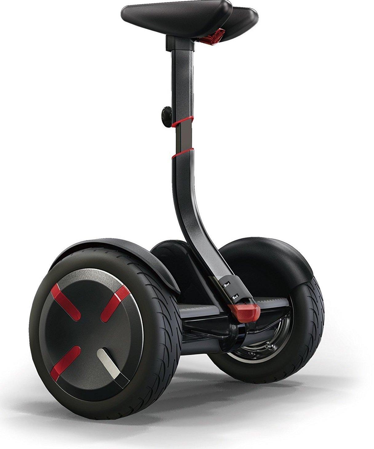 【Amazon.co.jp限定】ninebot(ナインボット) Ninebot mini Pro(ナインボットミニプロ) 軽量でコンパクト、かんたん操作 バランススクーター ※保証期間1年付き B0187585ZQ ブラック ブラック