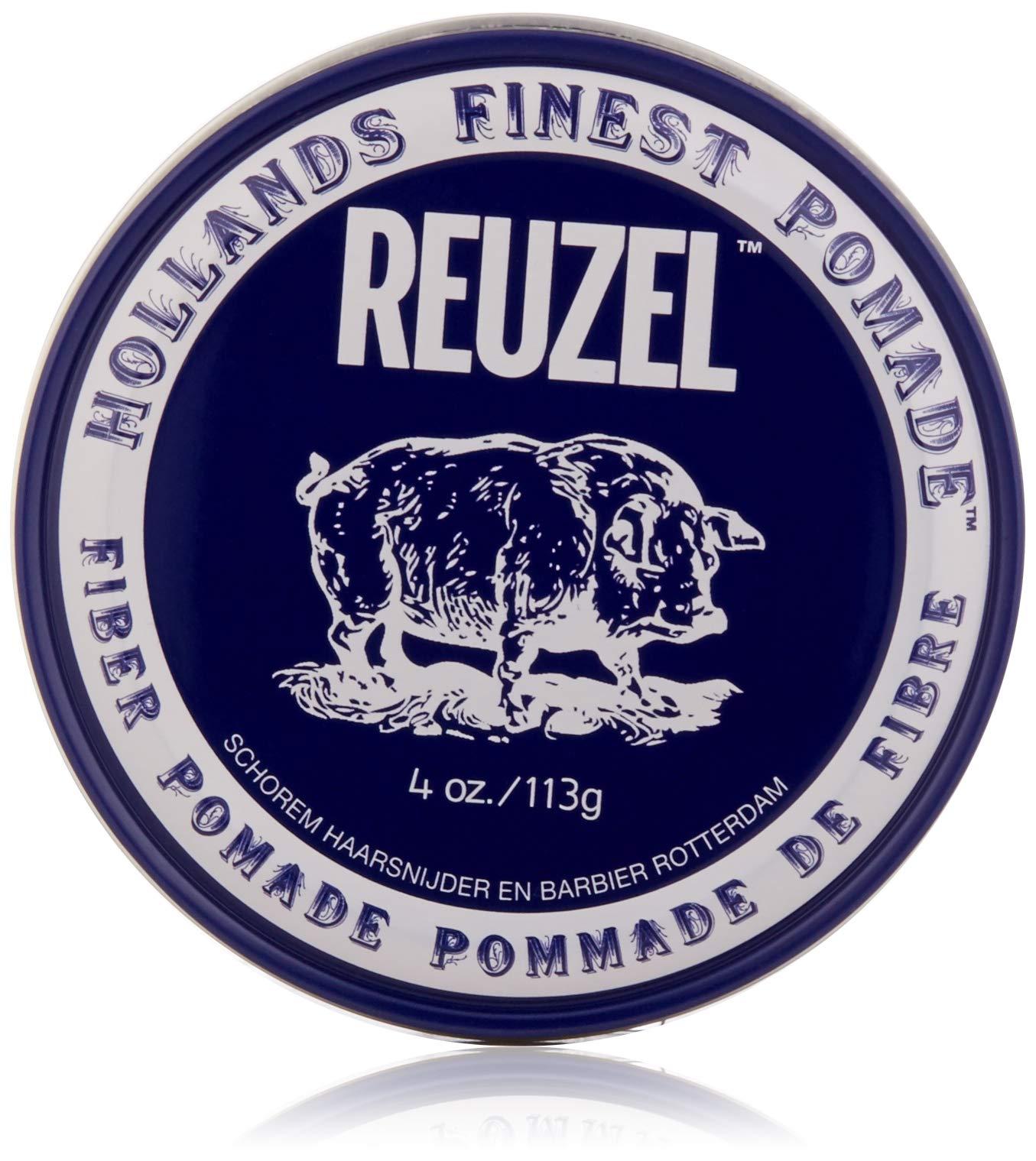 Reuzel Natural Finish Fiber Pomade, 4 oz by REUZEL INC