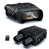 Deals on BOOVV HD Digital Infrared Night Vision Binoculars w/32 GB Card