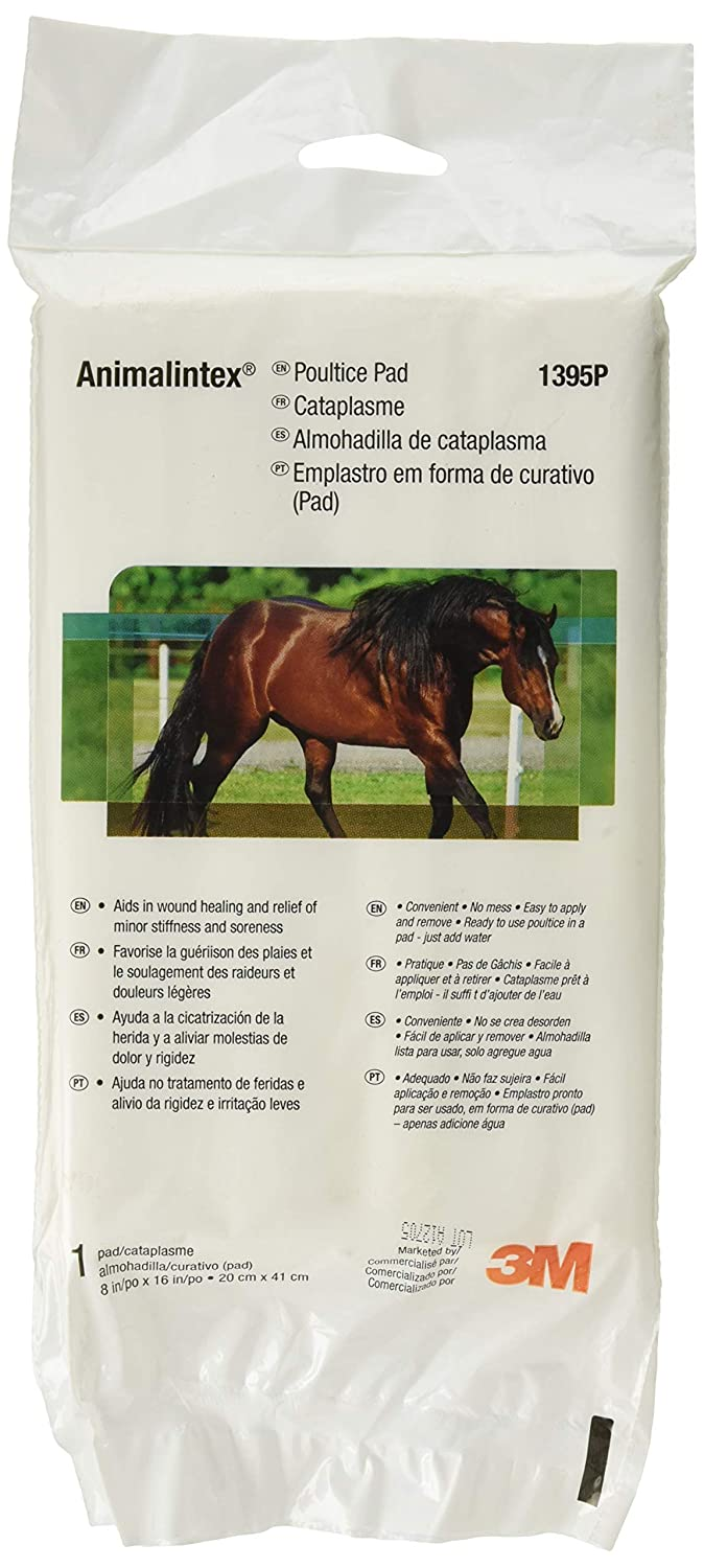 (3 Pack) 3M Animalintex Poultice 8 x 16 Inches