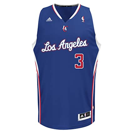 c13bd1e8f99e Amazon.com   NBA Los Angeles Clippers Blue Swingman Jersey Chris ...