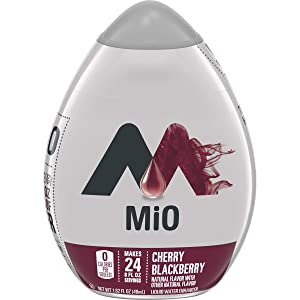 MiO Cherry Blackberry Liquid Water Enhancer, Caffeine Free, 1.62 fl oz Bottle
