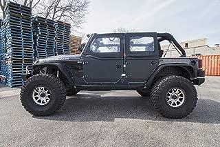 product image for JcrOffroad JKHD-F-PC Jeep Door and Component (07-16 Wrangler & Wrangler Unlimited Front Half Doors, Crusader Trail Doors, Powder Coat)
