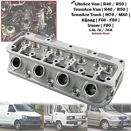 Amazon com: Engine Cylinder Head For Toyota LiteAce TownAce Kijang
