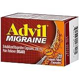 Advil Migrain 20'S Size 20ct Advil Migraine Pain