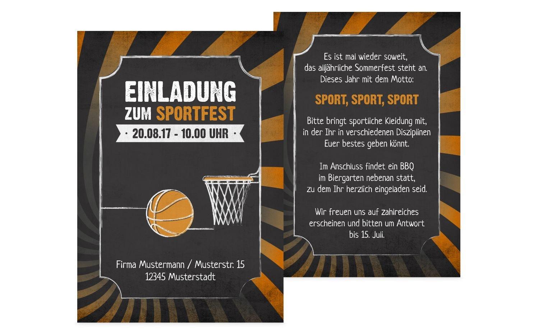 Einladung Sommerfest Retro Sport, 60 Karten, Rot B073W98XV2 |   | Sonderpreis  | Modern Und Elegant In Der Mode