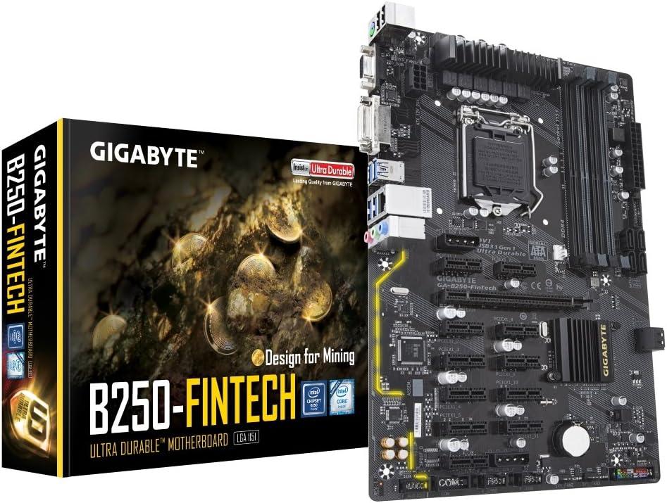 Gigabyte B250 Fintech Mining Gab25 0fit Ga Computers Accessories