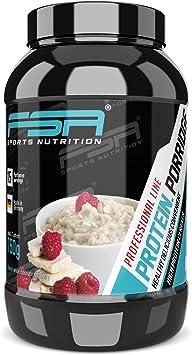 Porridge proteico, Gachas de avena con proteína en polvo de suero ...