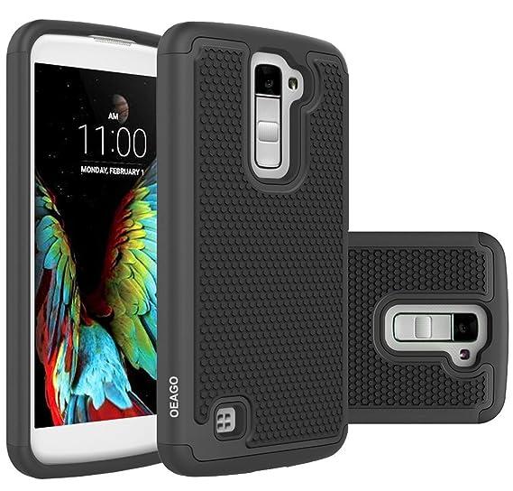 hot sale online 69378 4cb8d Amazon.com: LG K10 Case, LG Premier Case Cover Accessories, OEAGO ...
