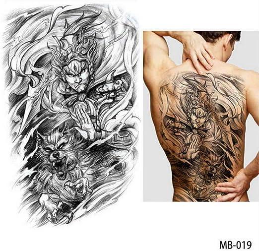 adgkitb 2 Piezas Pegatinas de Tatuaje de Tatuaje en el Pecho de ...
