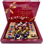 Dolciaria Monardo Assorted Imported Italian Chocolate Gift Box Set | Italy's Finest Chocolates | Gianduiotto, Creamy, Fruit &