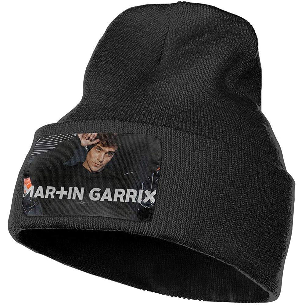 Cappellino Martin Garrix in Maglia Neutra Cappellino Classico Autunno e Inverno Caldo