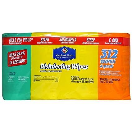Miembros de Mark Toallitas desinfectantes Variety Pack, 8 unidades – 78 CT. cada