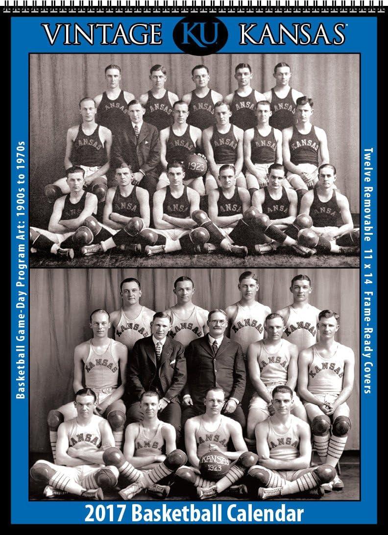 2017 Vintage Kansas Jayhawks baloncesto calendario: Asgard Press ...