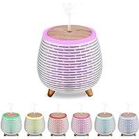CkeyiN Humidificador Ultrasònico Mini Difusor 90ML Ambientador Aromaterapia Silencioso Apagado Automtico Luces LED 7…