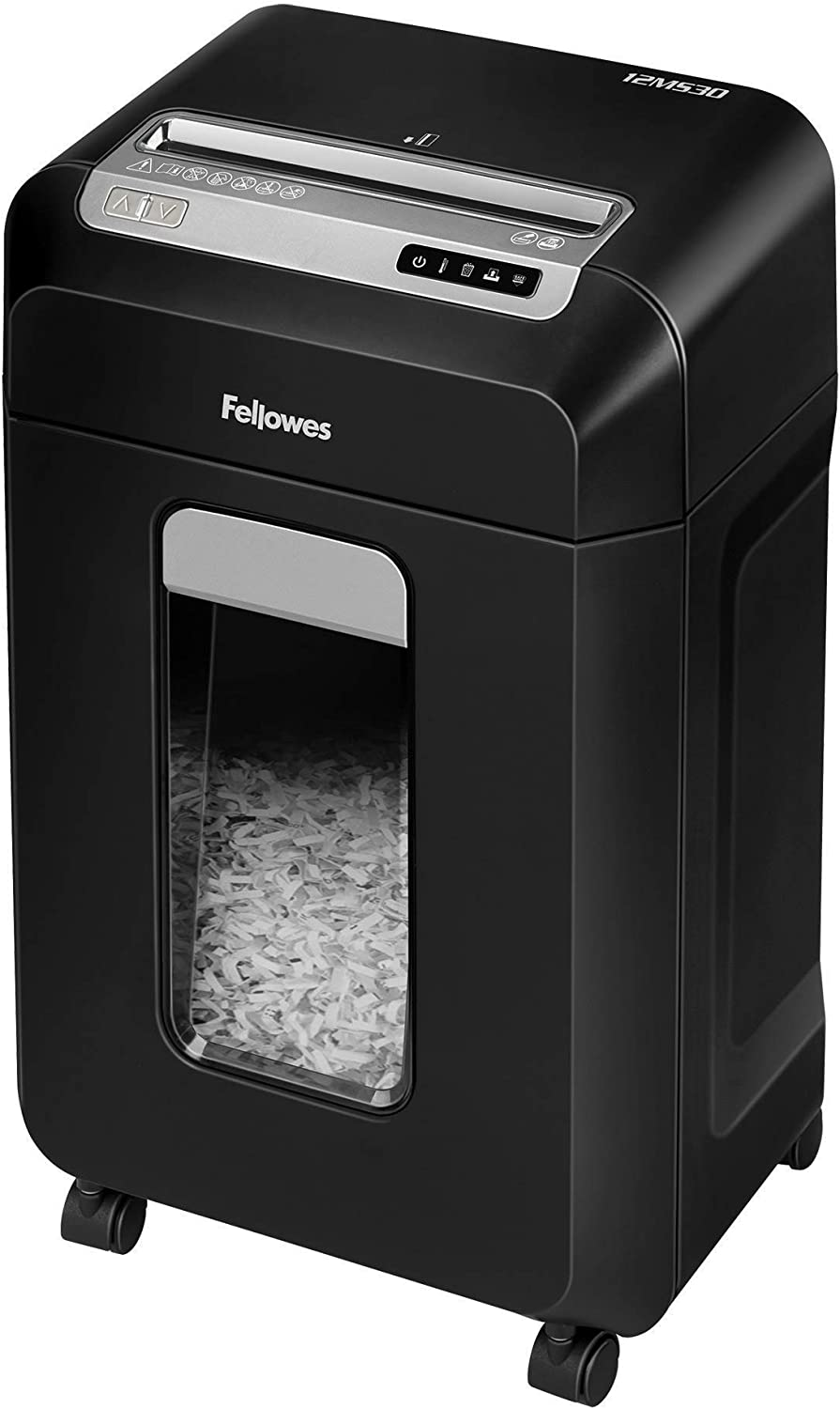 Fellowes 12MS30 Powershred Micro-Cut Deskside Paper Shredder