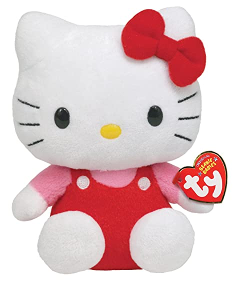 Amazon.com  Ty Beanie Baby Hello Kitty - Original  Toys   Games 074ac6feeef