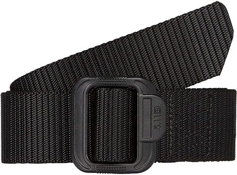 Coyote//Black 59568 5.11 TACTICAL Nylon Double Duty TDU Belt,Black,2XL